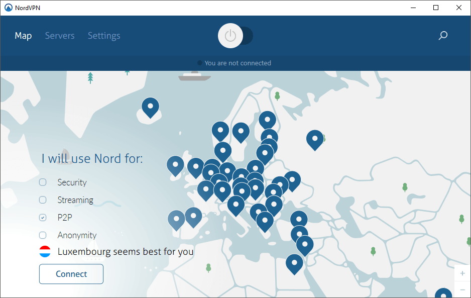 nordvpn windows software