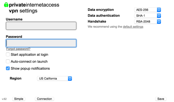 private internet access windows software