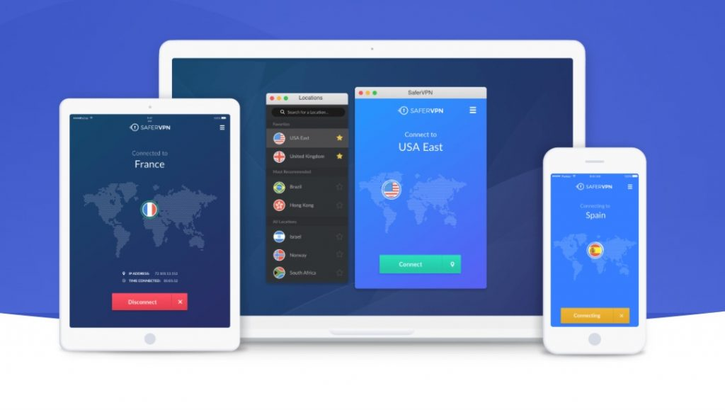 safervpn devices