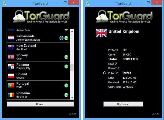 torguard client app
