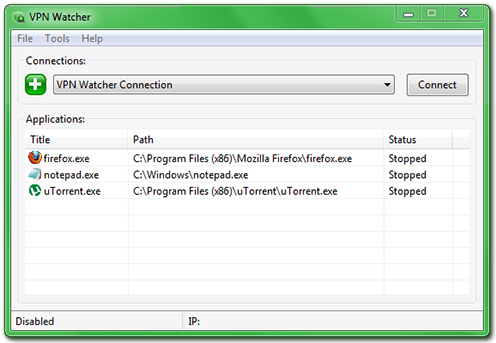 vpn watcher software