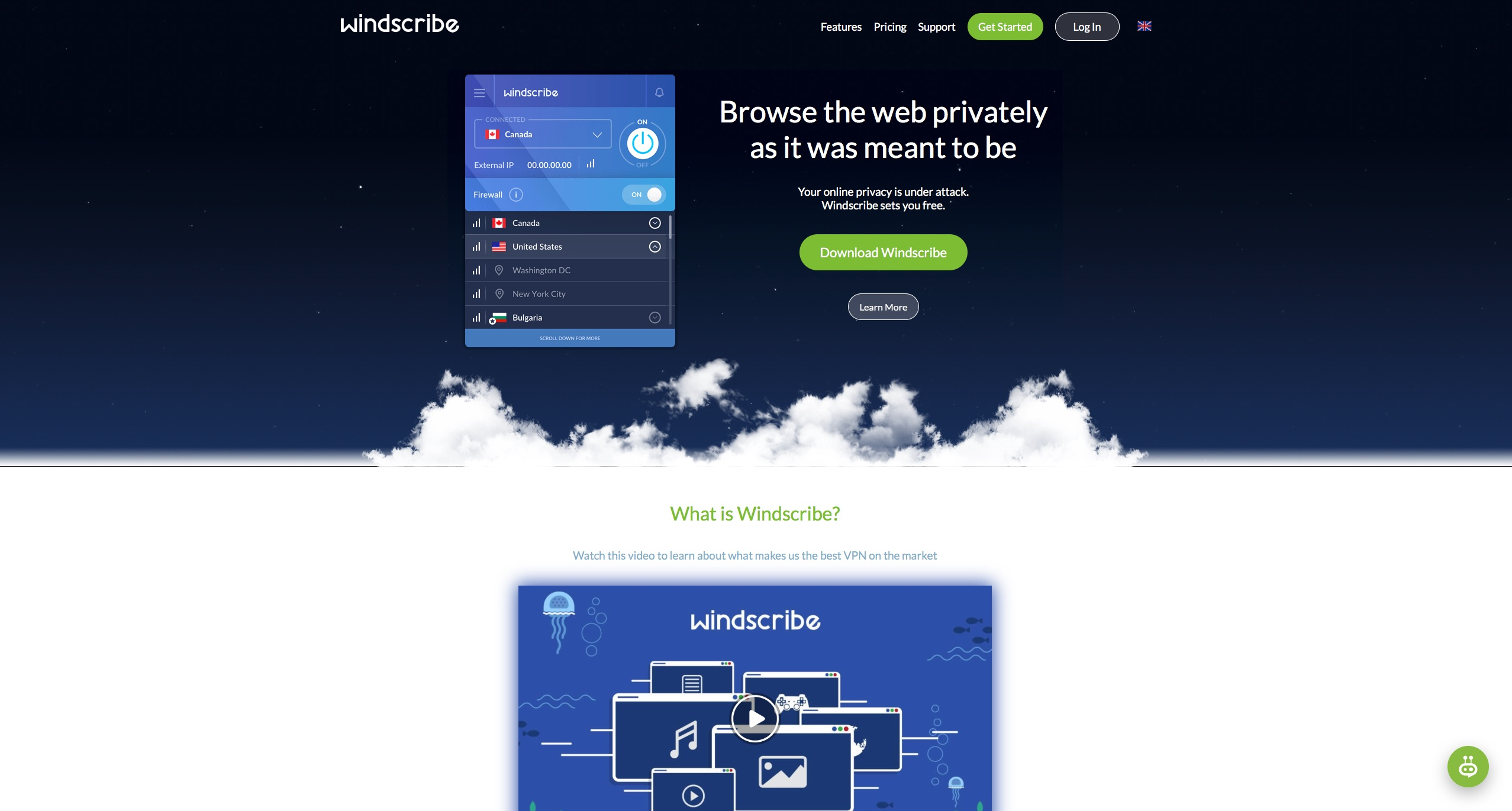 Windscribe VPN Review: Free and Pro - VPNTrends com