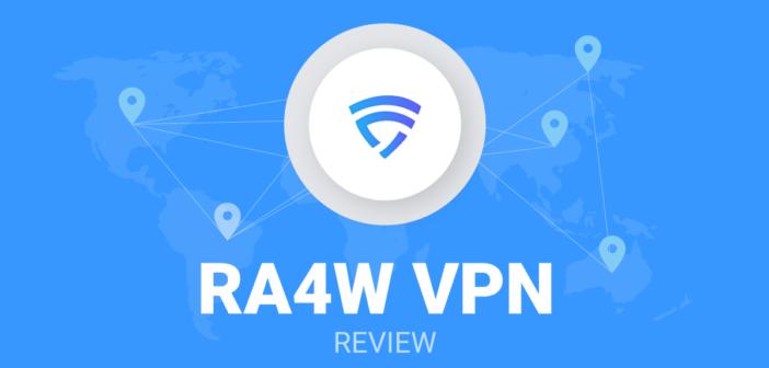 RA4W VPN review