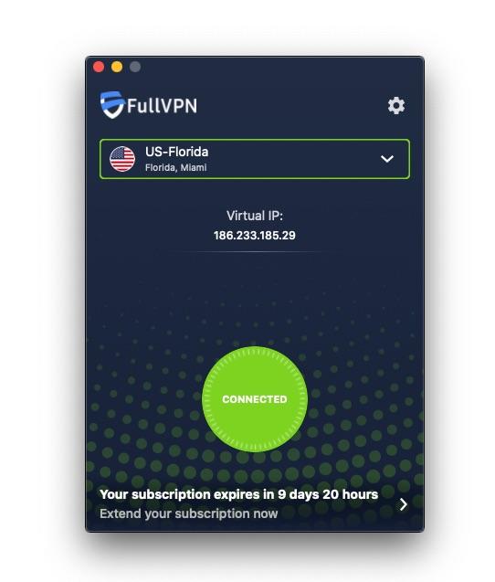fullvpn macOS app